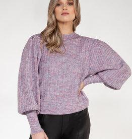 Black Tape Confetti Sweater