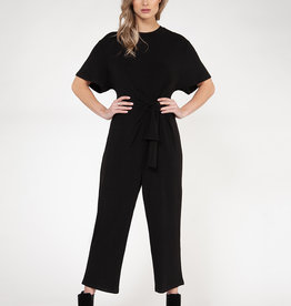 Black Tape Black Jumpsuit