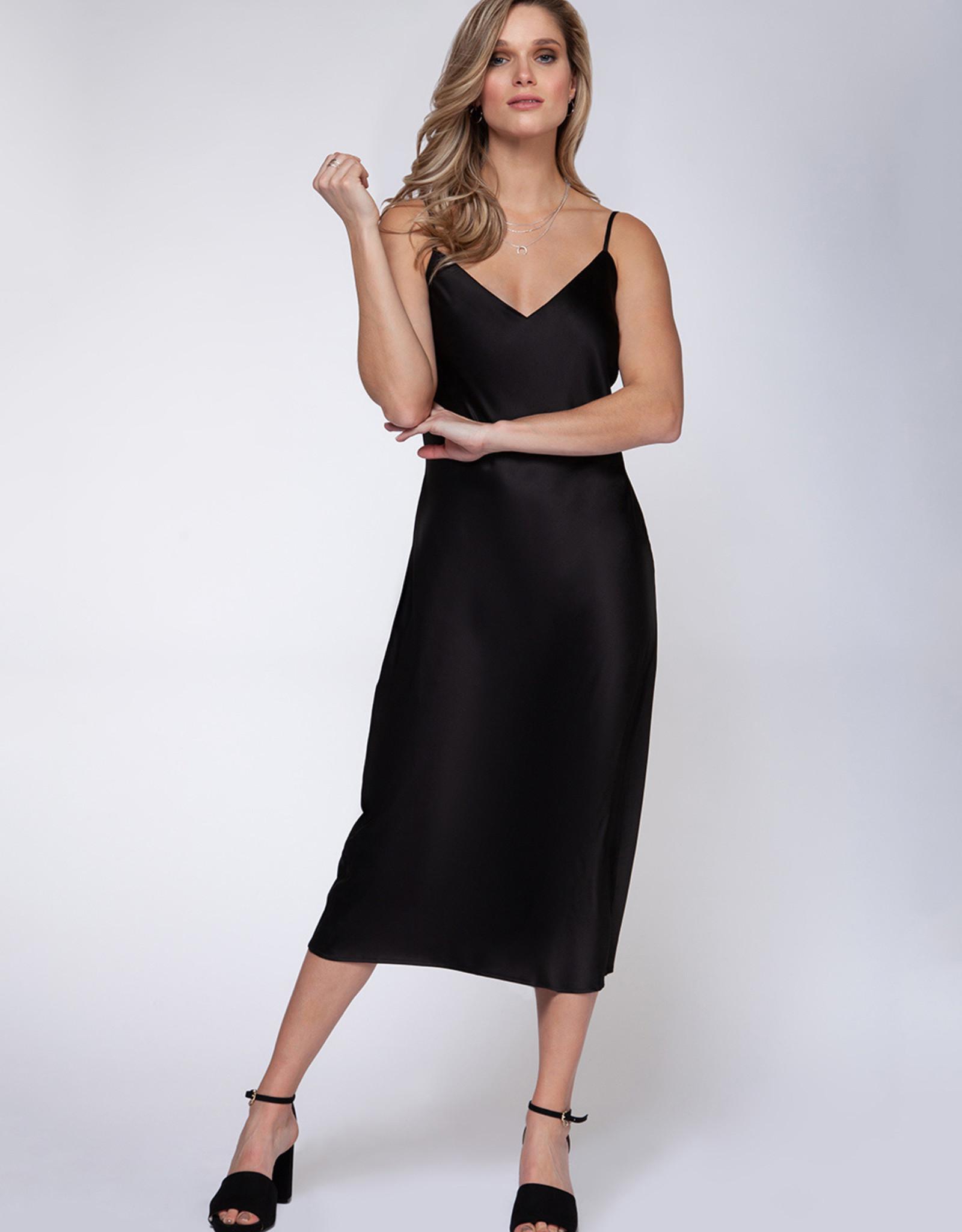 Black Tape Caviar Slip Dress