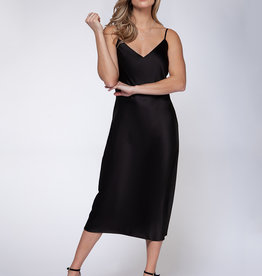 Black Tape Caviar Slip Dress