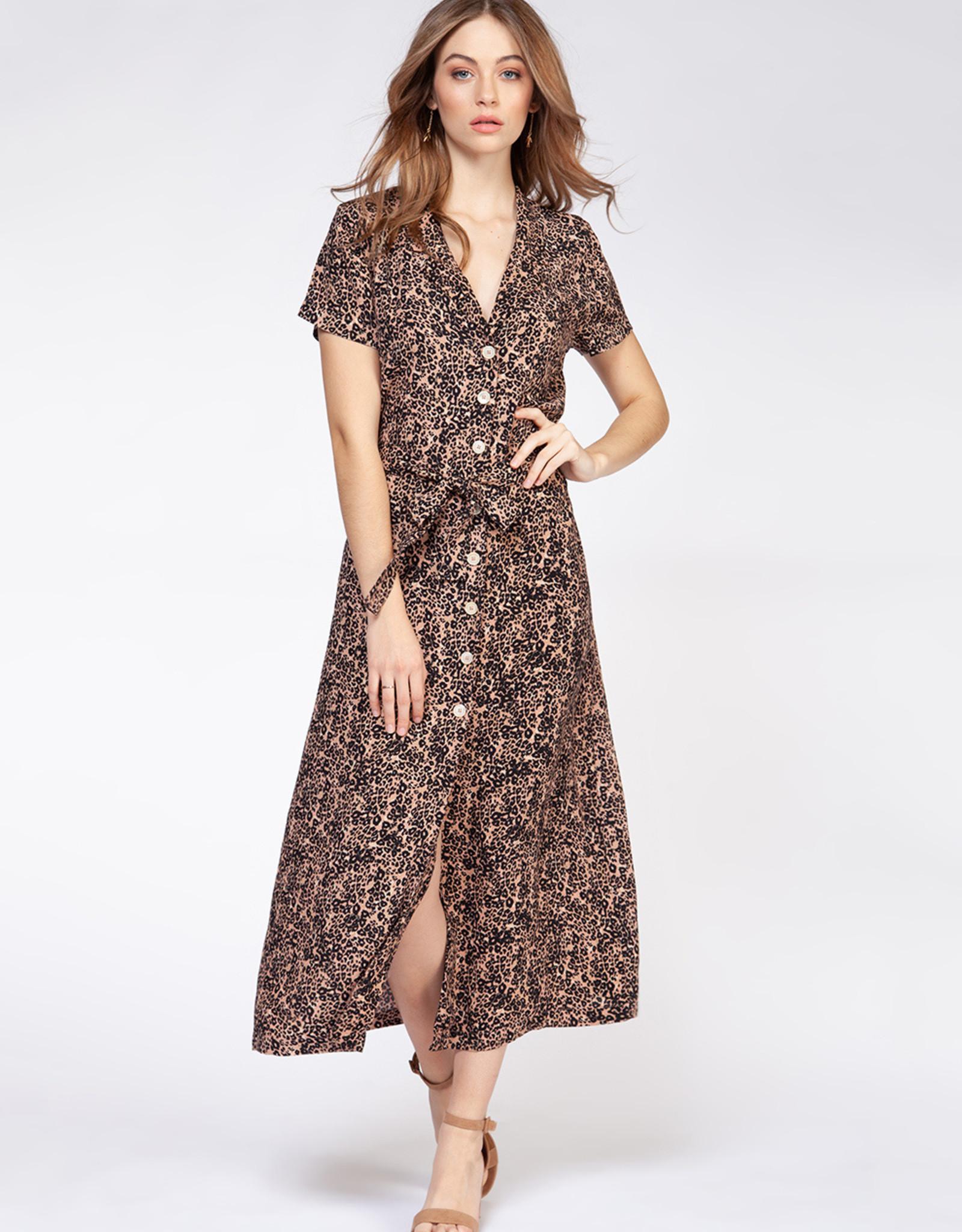 Dex Leopard Print Dress