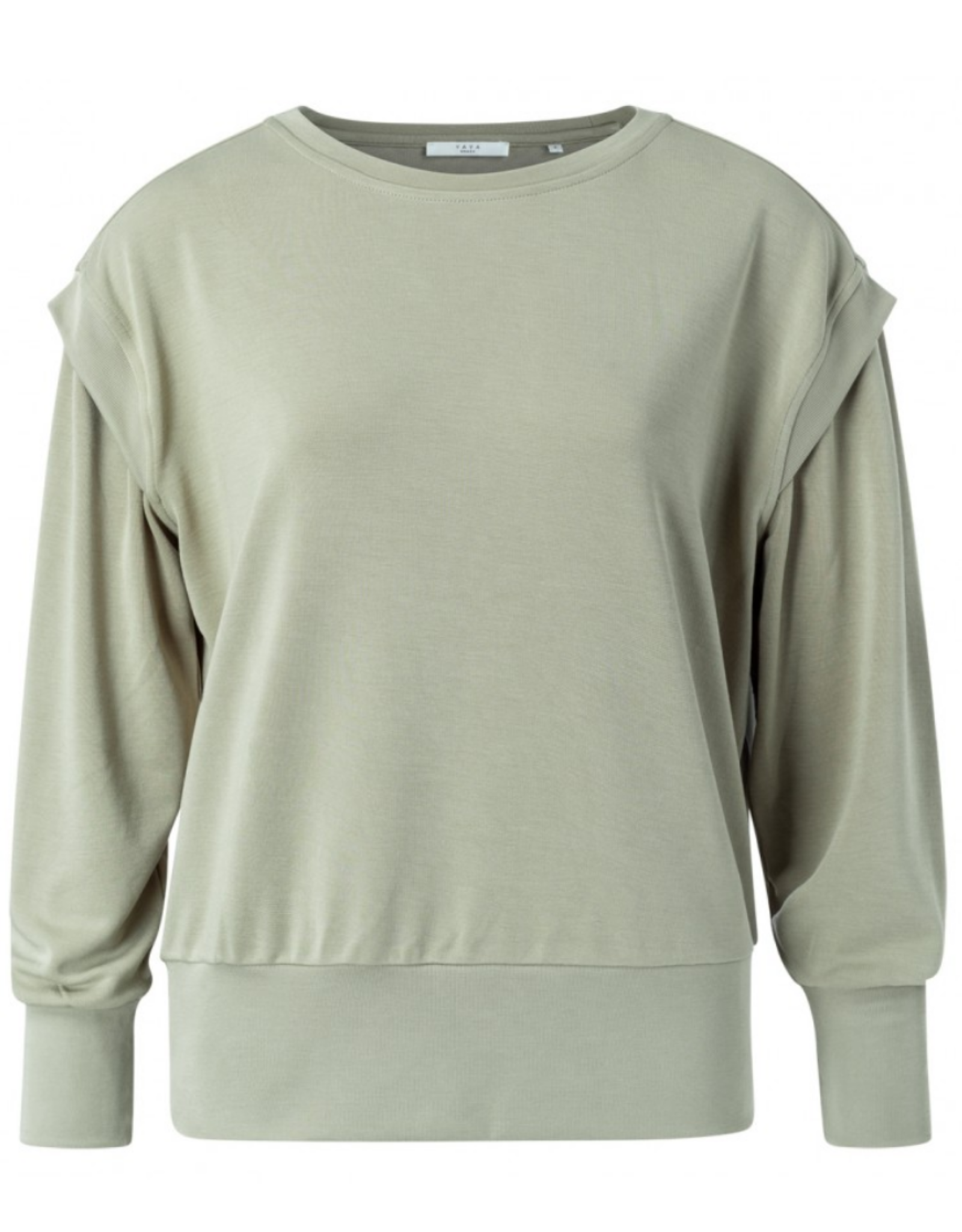 Yaya Sweater w/ Shoulder Detail