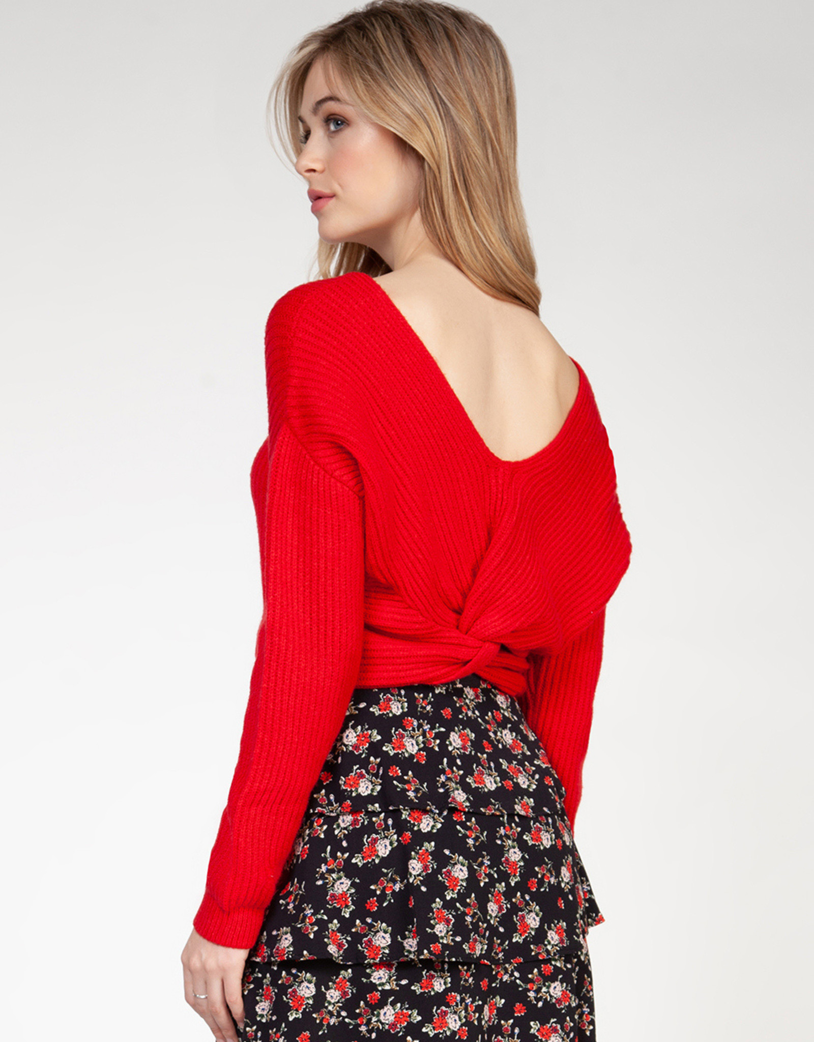 Dex Cherry Sweater