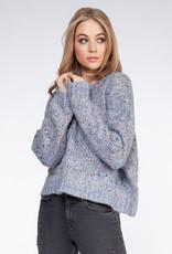 Dex Blue Confetti Sweater