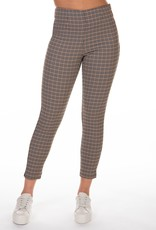 Dex Taupe/Black/Yellow Check Pants