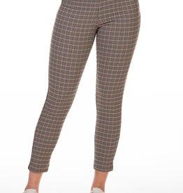 Dex Taupe/Black/Yellow Check Pants