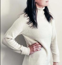 Orb Clothing Amanda Turtleneck Cream