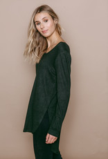 Orb Clothing Liliana Evergreen Top