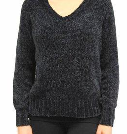 Orb Clothing Yvonne Chenille Sweater Indigo