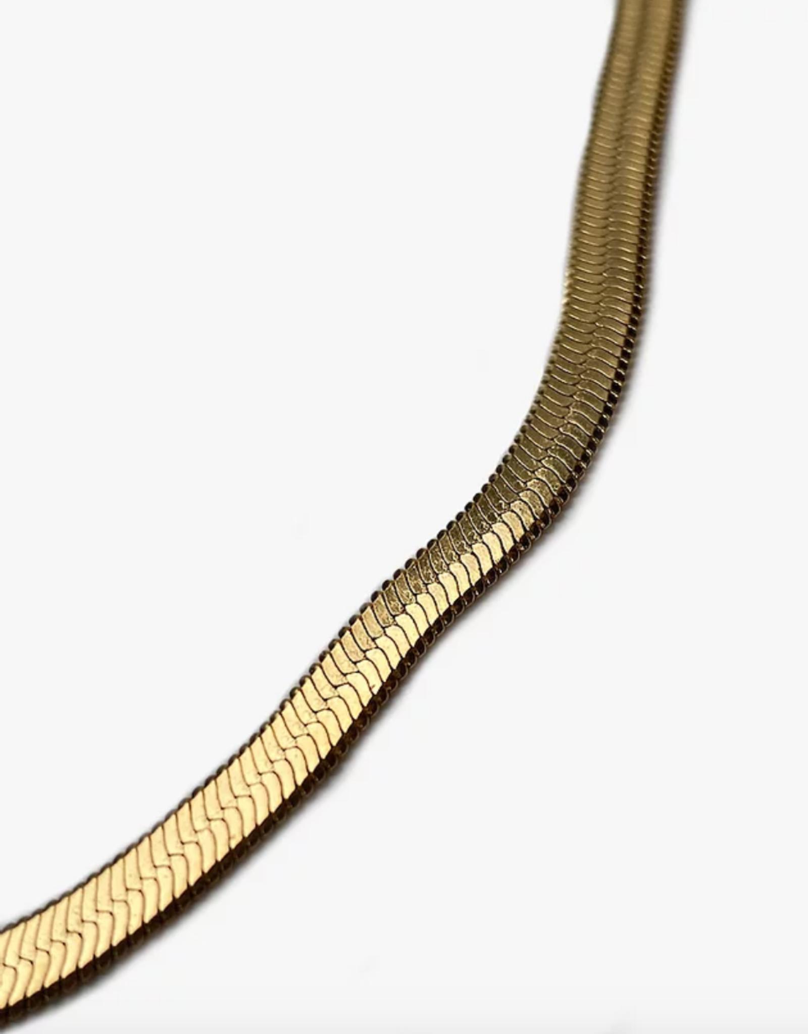 Lakoo Designs Gold Snake 3mm