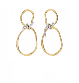 Lakoo Designs Gold Loop Knot