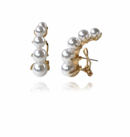 Lakoo Designs Gold Pearl Hug