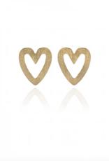 Lakoo Designs Gold Mini Heart
