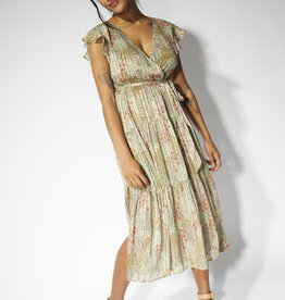 Mink Pink Monet Midi Dress