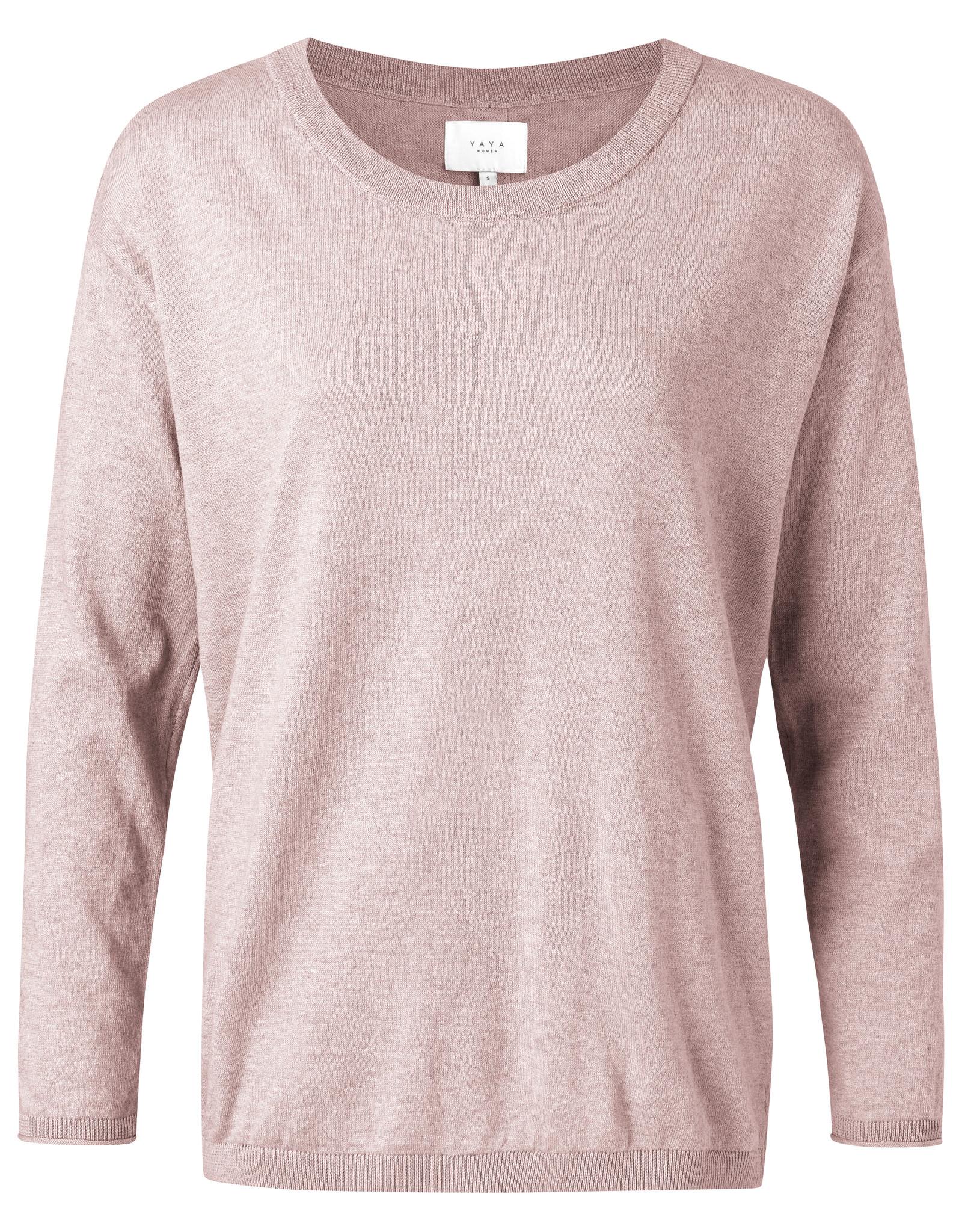 Yaya Rose Sweater w/ Buttons