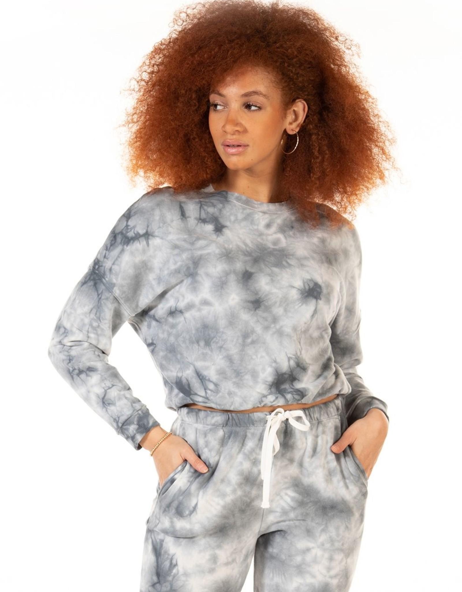 Dex Navy Tie Dye Pullover