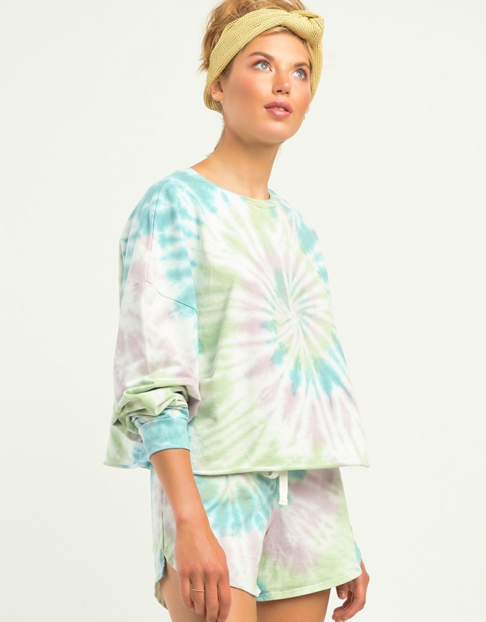 Dex Pastel Tie Dye Pullover