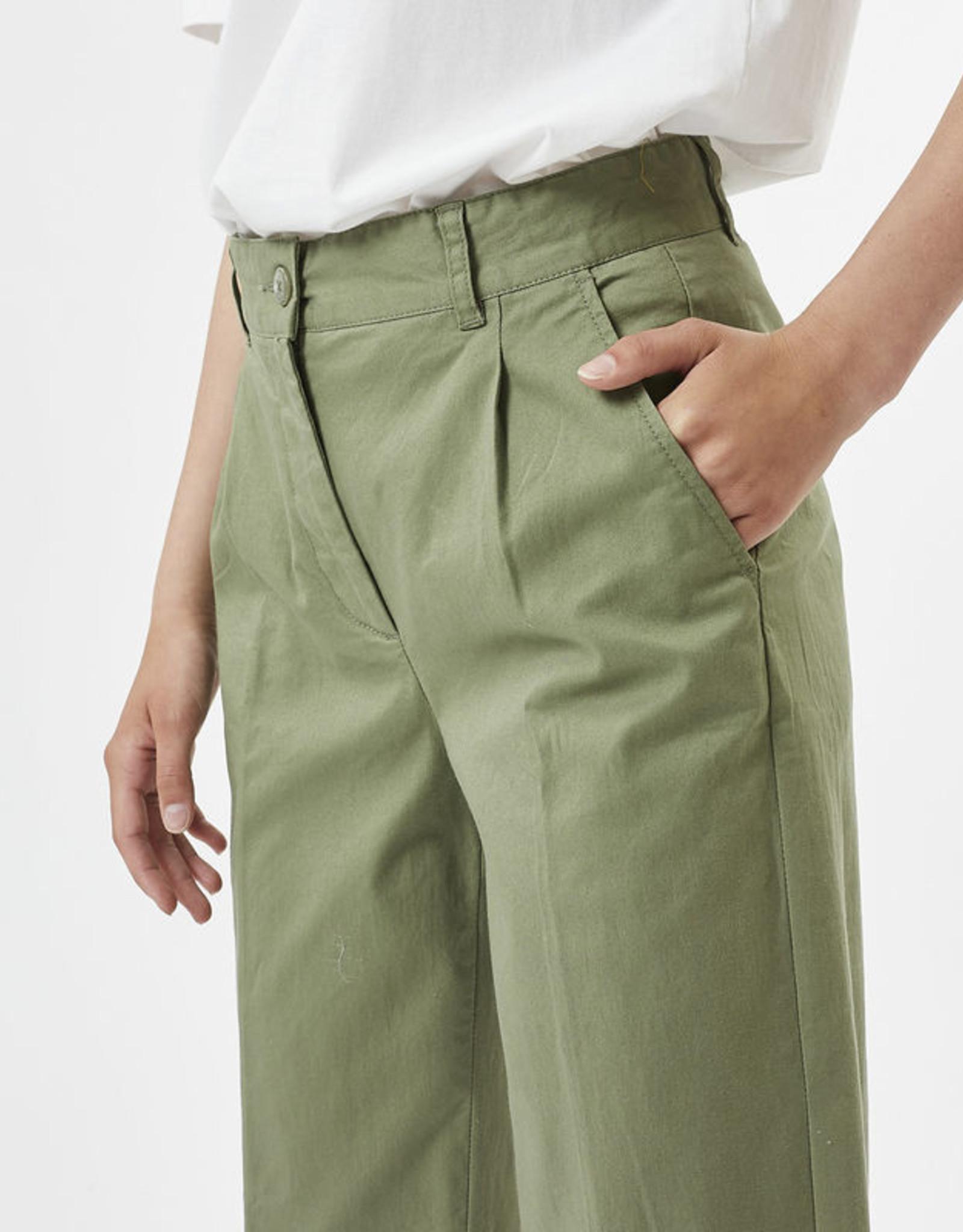 Minimum Stino Casual Pant Oil Green