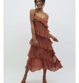 Mink Pink Leah Midi Dress