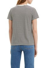 Levi's Perfect Tee Aya Caviar Stripe