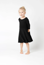 Mi and Fi Swirl Dress Black