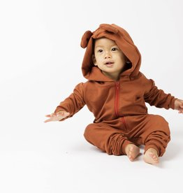 Mi and Fi Bear Fleece Romper