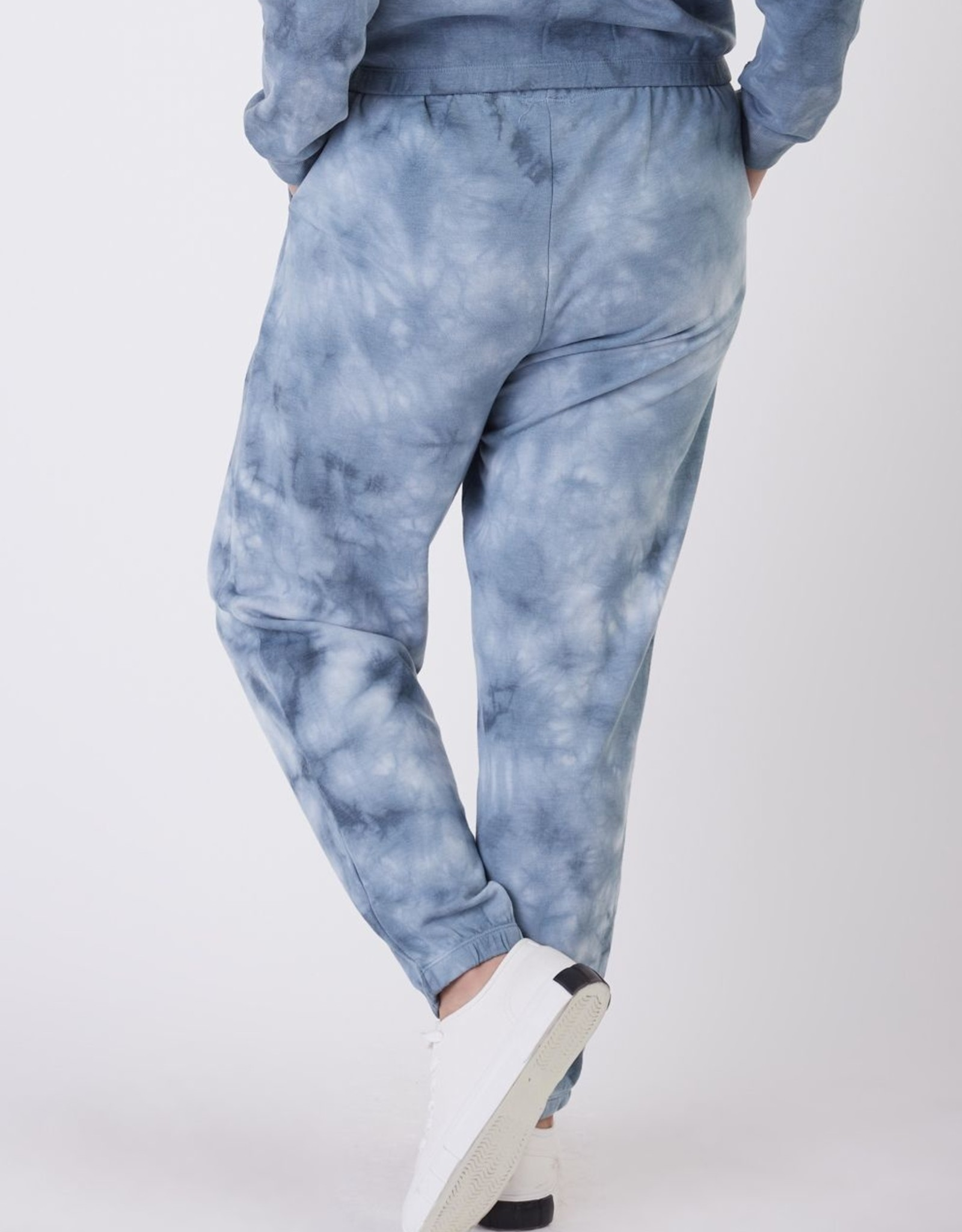Dex Navy Tie Dye Jogger Plus