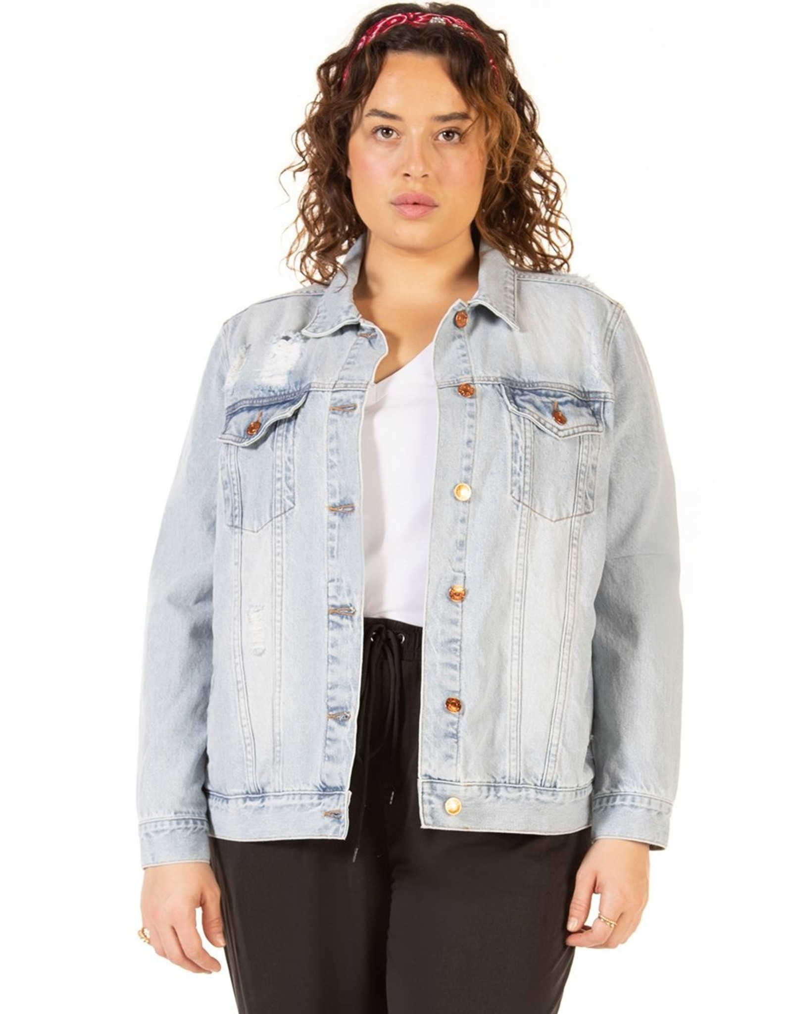 Dex Tammy Denim Plus Jacket