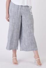 Dex Indigo Wide Leg Pants Plus