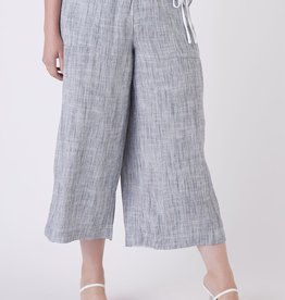 Dex Indigo Wide Leg Pants Plus