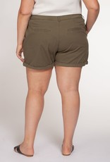Dex Khaki Shorts Plus
