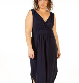 Dex Indigo High Low Dress Plus