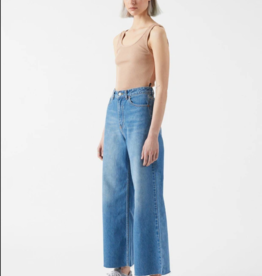 Dr Denim Aiko Cropped Empress Blue