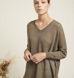 Naif Rumi Sage Sweater