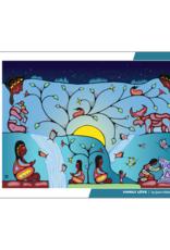 Native Northwest Family Love Puzzle 1000pc