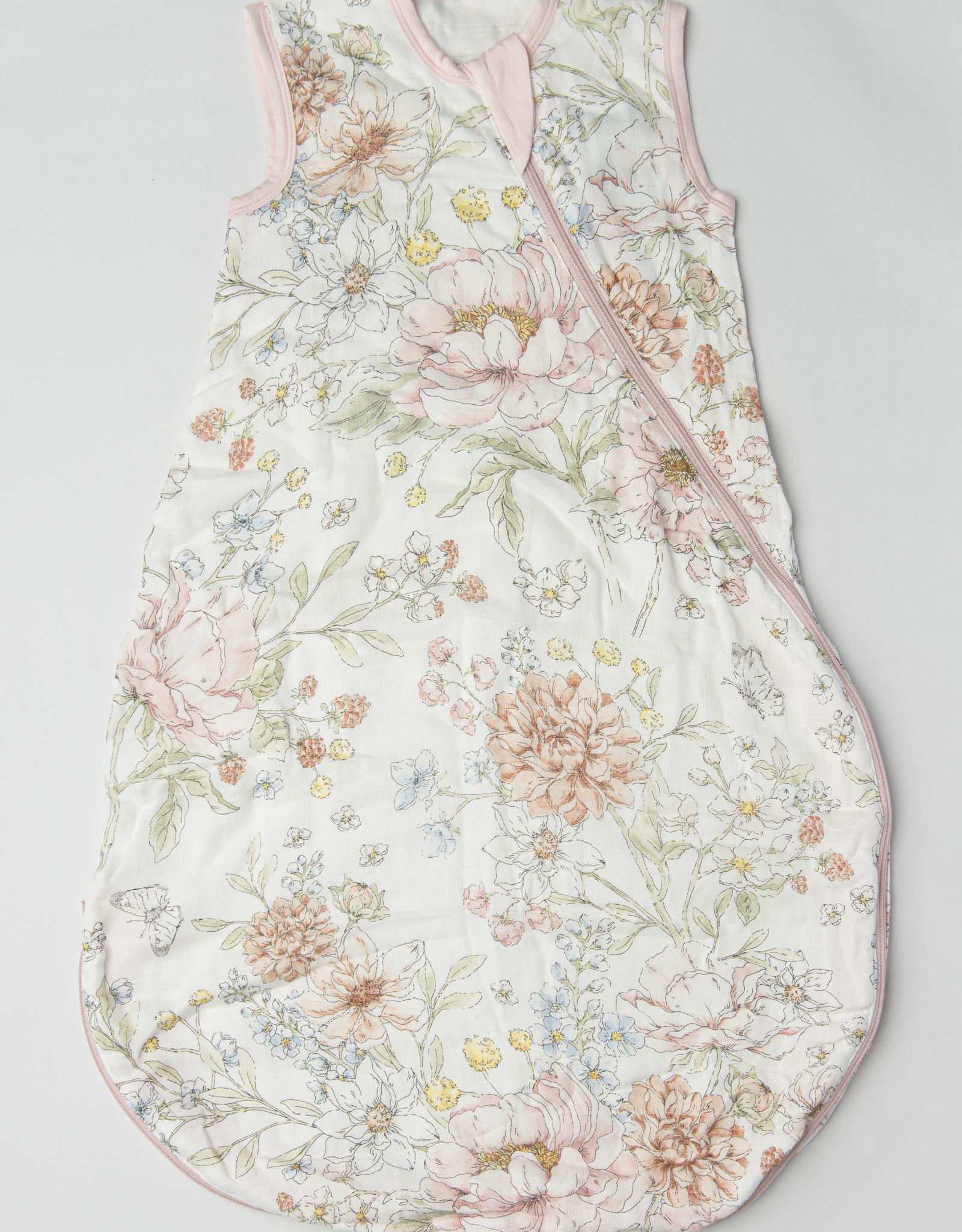 Loulou Lollipop Secret Garden Muslin Sleep Bag 3-12m