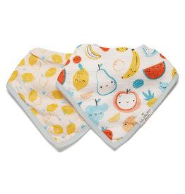 Loulou Lollipop Cutie Fruits - Bandana Bib Set