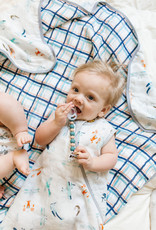 Loulou Lollipop Born to Fly Muslin Sleep Bag 3-12m