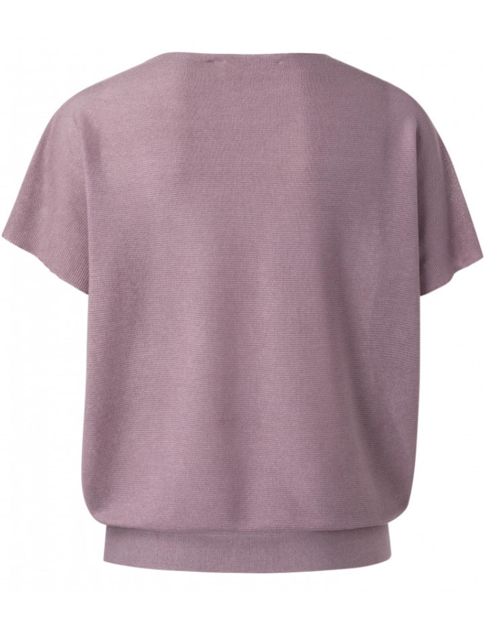 Yaya Silk Blend Lilac Sweater