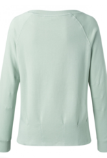 Yaya Pleated Sweater Powder Blue