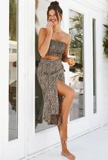 Koy Resort and Brunette the Label Smocked Tube Top