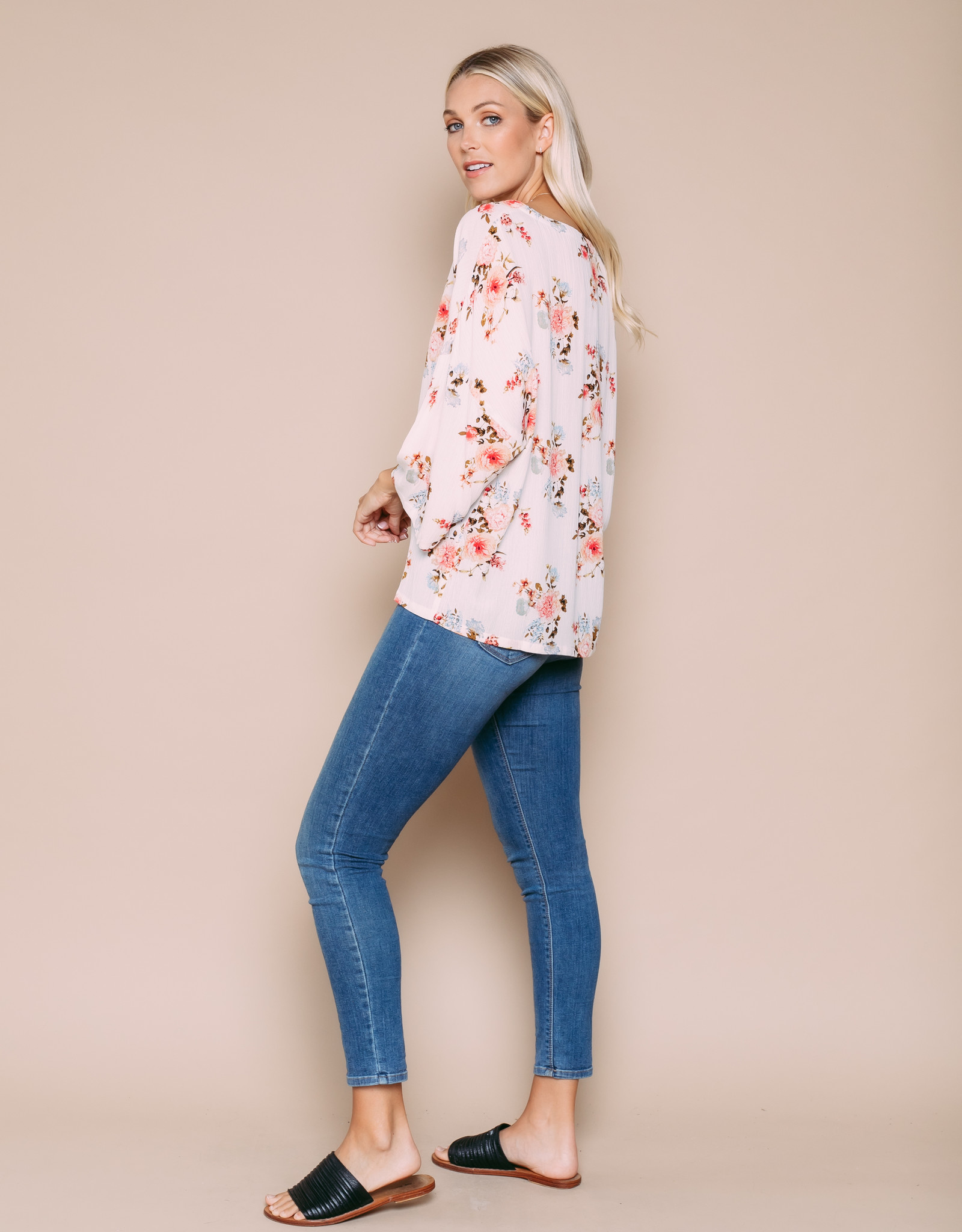 Orb Clothing Mia Floral Tee