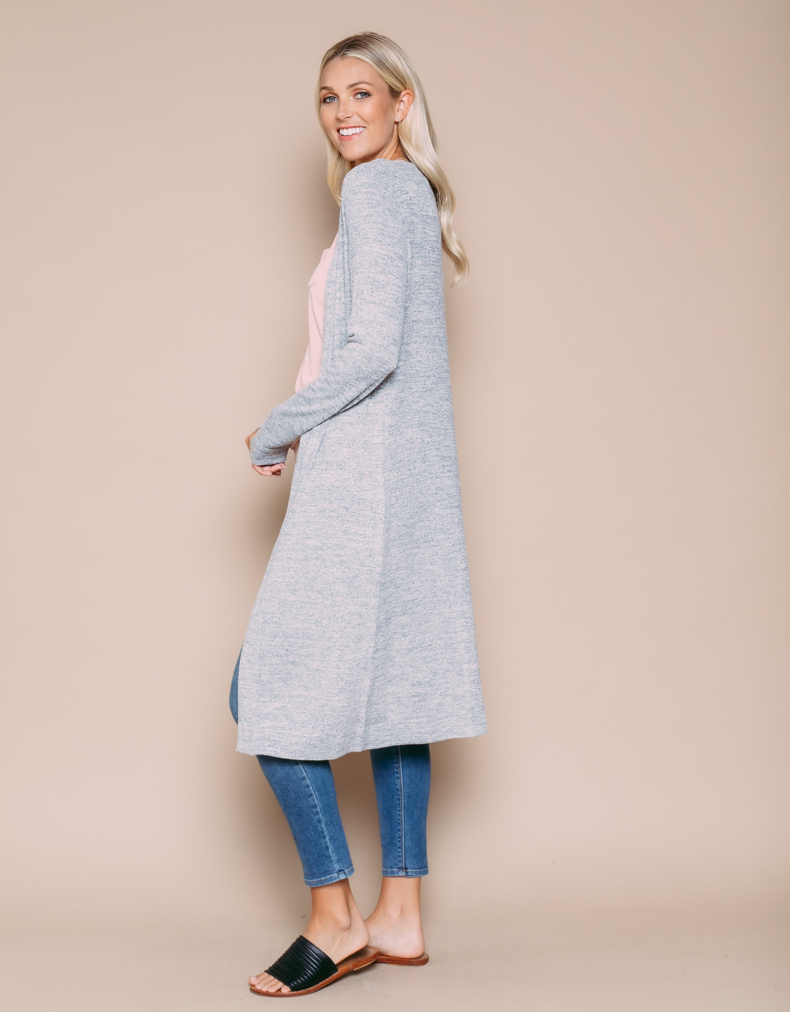Orb Clothing Abigail Duster Grey