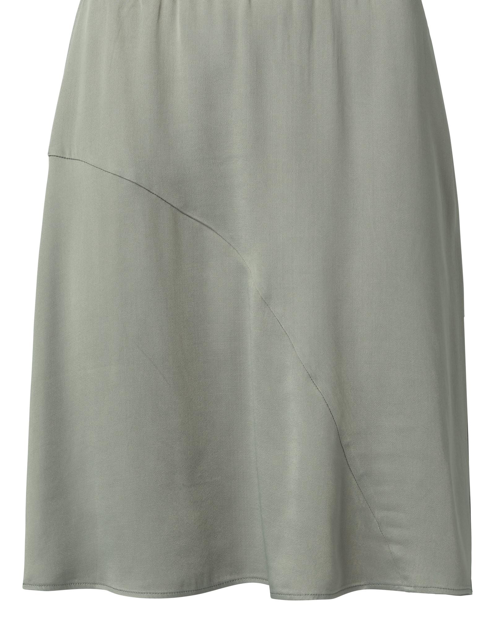 Yaya Satin A-Line Skirt