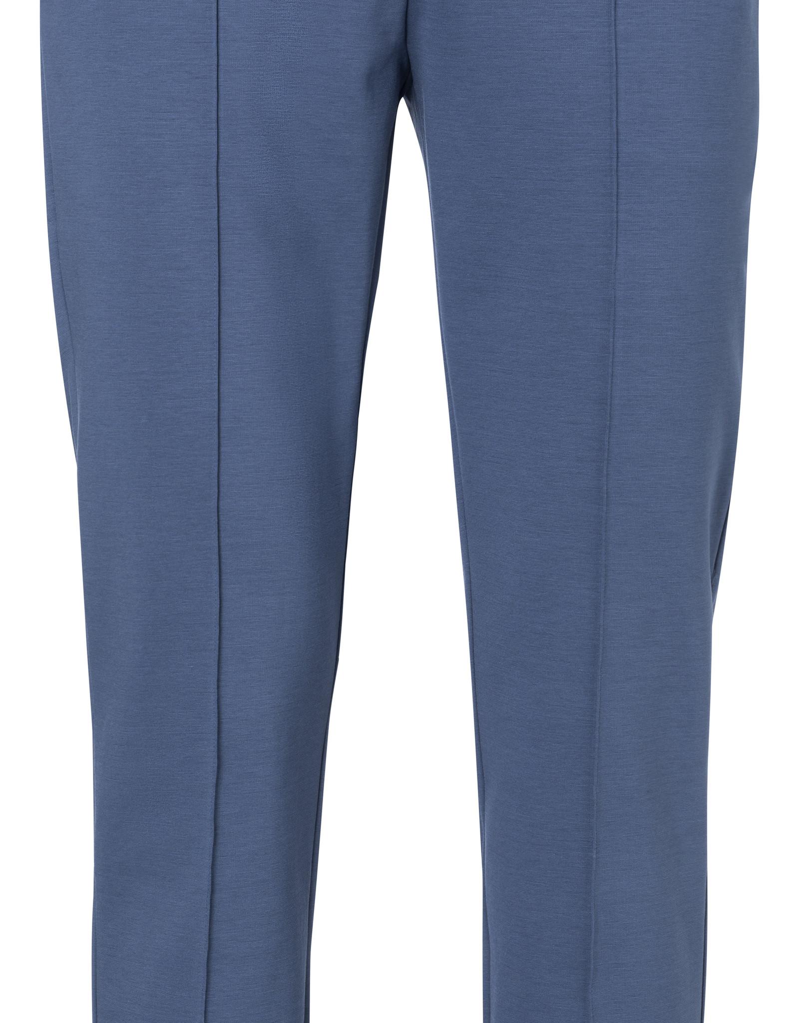 Yaya Jersey Trousers Ensign Blue