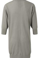 Yaya Linen Cotton Blend Loose Cardigan