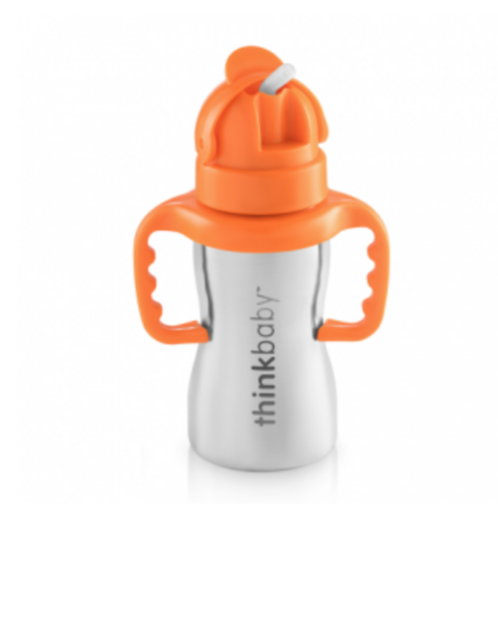 ThinkBaby Think Baby Stainless Steel Straw Bottle