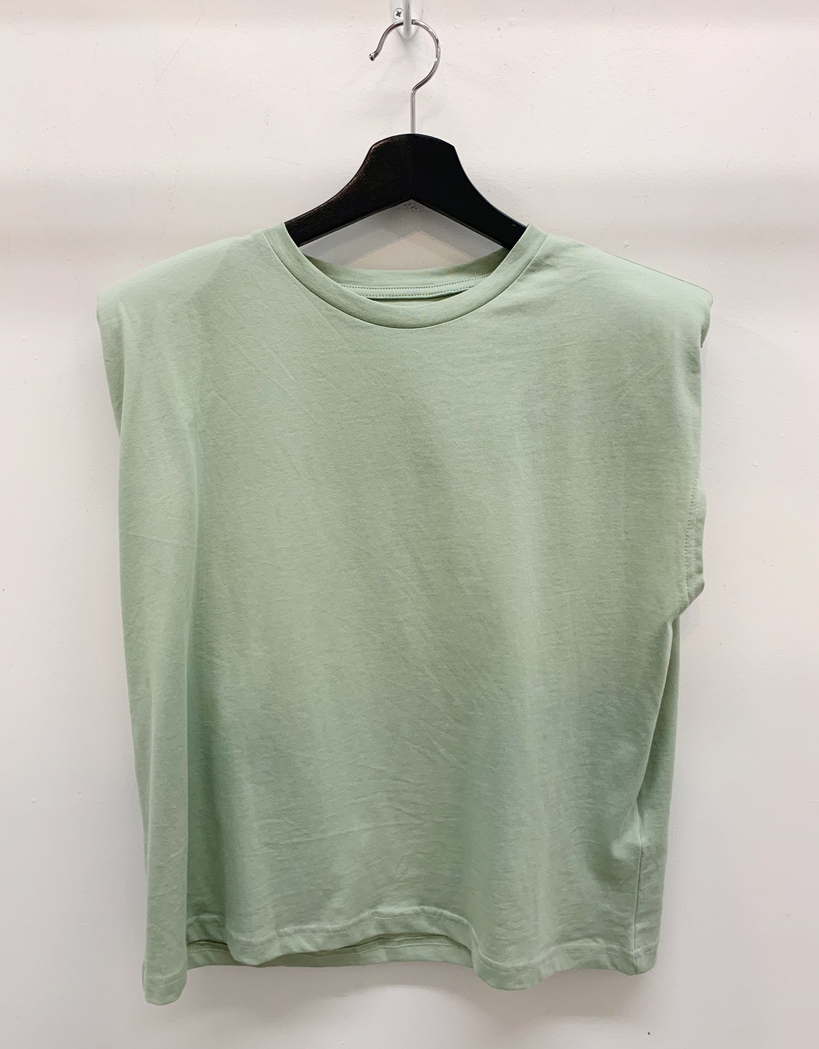 Only Amy Shoulder Pad Tee