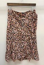 Only Fuchsia Wrap Skirt
