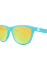Knockaround Sunnies Matte Blue/Yellow